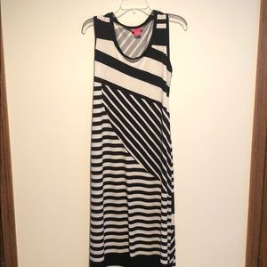 Black and white stripped Maxi dress 3 for 20